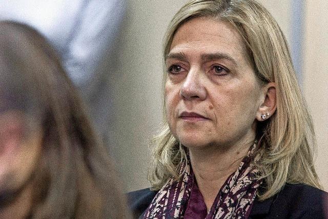 Infantin Cristina steht wegen Korruptionsverdacht vor Gericht