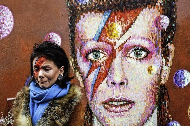 Trauer um Musiklegende David Bowie