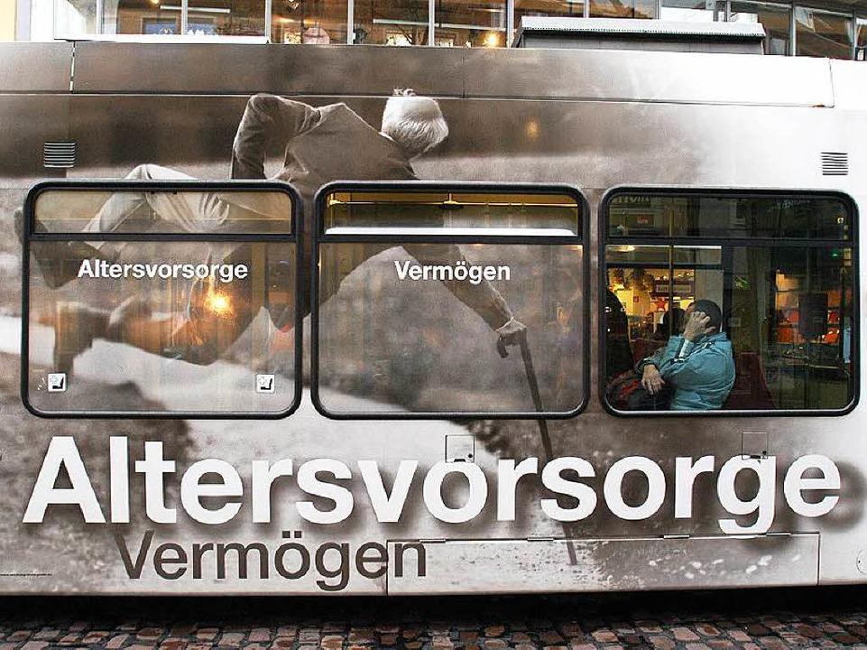 Die Aussicht auf noch mehr Werbung fre...dürfen auch Fenster zugeklebt werden.     Foto: Archivbild: Ingo Schneider
