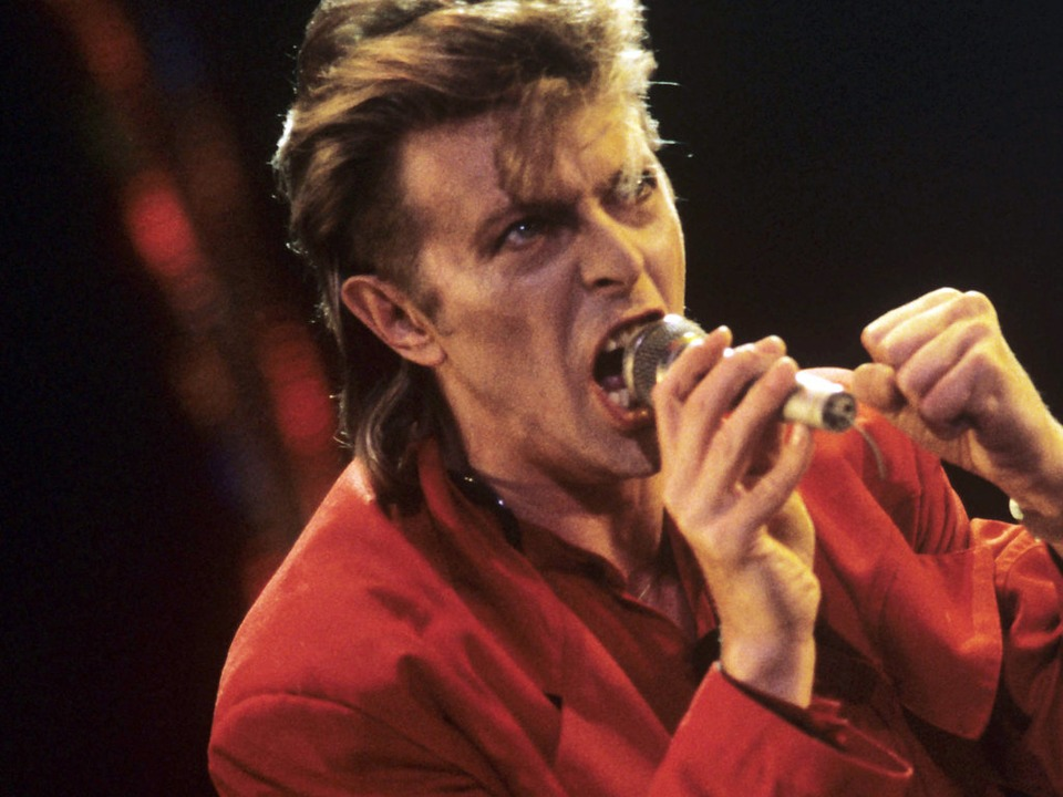 David Bowie 1987 bei Rock am Ring  | Foto: dpa