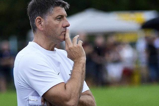 Trainer Markus Eichhorn verlässt den FV Sulz nach Saisonende