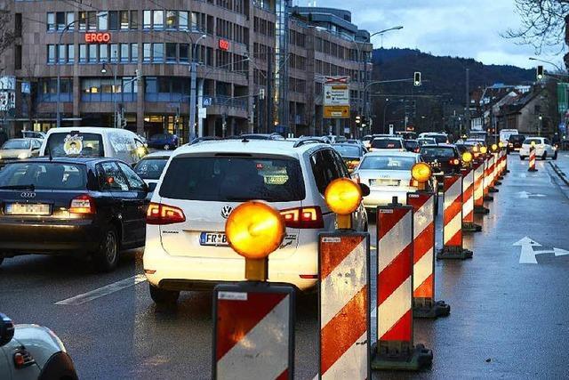 Stadt schafft Stau – für weniger Verkehr in der Basler Straße