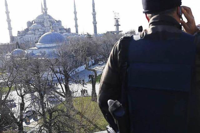 Mindestens acht Deutsche in Istanbul getötet