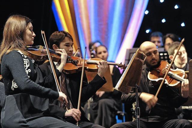 Junge Philharmonie Köln musiziert in der evangelischen Kirche