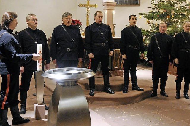 Flotter Liedergalopp in der Kirche