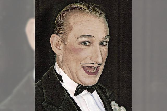 Der Entertainer Robert Kreis gibt ein Gastspiel im Calatheater
