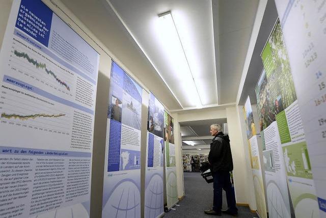 Die Folgen des Klimawandels sind Thema in der Stadtbibliothek