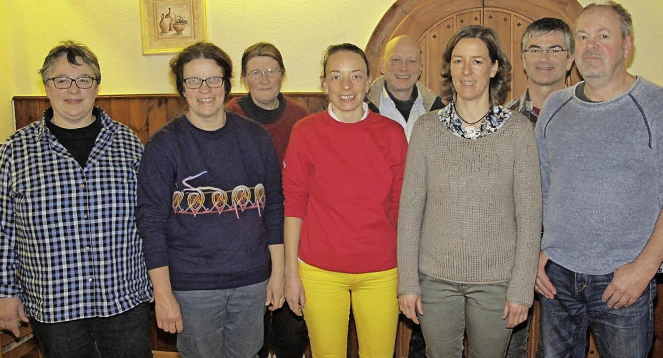 Die Referenten der Fachtagung (von lin...g; Cornelius Güntert, Wutach-Lembach.   | Foto: Ulis