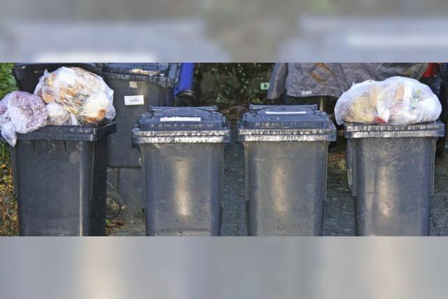 Vom langen Warten auf die Mülllastwagen