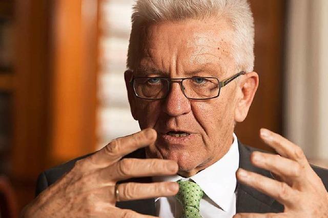 Kretschmann: straffällige Flüchtlinge müssen gehen