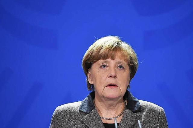 Kanzlerin Angela Merkel über den Anschlag von Istanbul