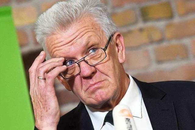 Wird Ministerpräsident Kretschmann zum Hardliner?