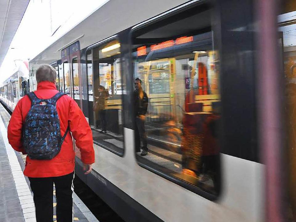 In der Regio-S-Bahn von Weil nach Lörrach kam es zu einem Übergriff.    Foto: Daniel Gramespacher