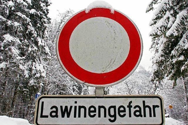 Experten warnen vor akuter Lawinengefahr am Feldberg