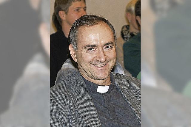 Pater Christoph wieder zurück