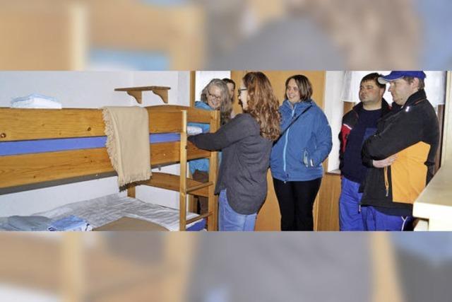 Obdach für 20 Syrer und Bosnier