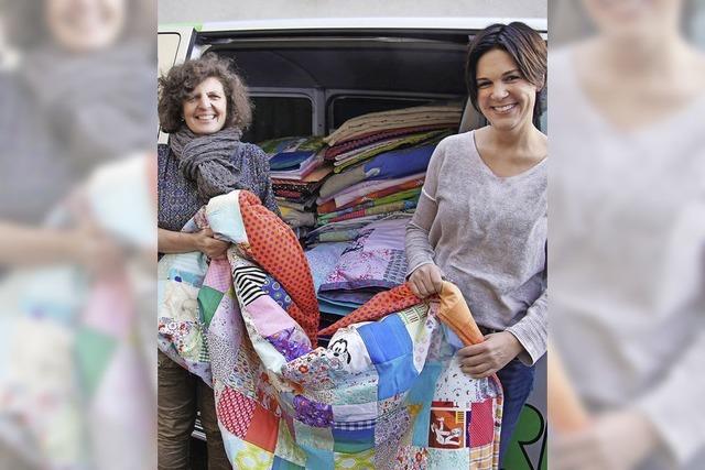 Eine Decke für jedes Flüchtlingskind