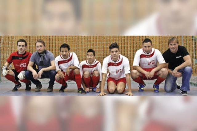 Student trainiert Fußballteam mit geistig behinderten Spielern