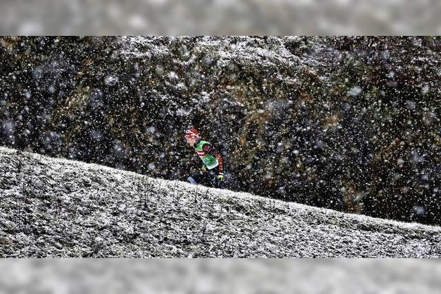 Benedikt Doll wird Achter im Weltcup von Ruhpolding