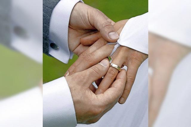 Mehr binationale Ehen als im Bundesdurchschnitt