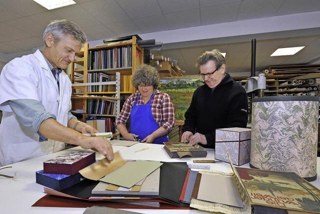 Trotz der Digitalisierung ist Buchbinderei Bock erfolgreich