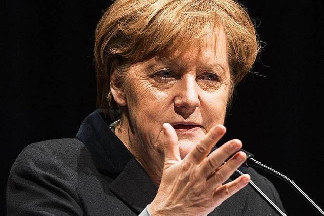 Merkel ehrt Eucken als
