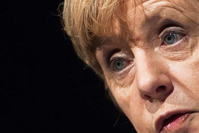 Angela Merkel in Freiburg: Ordnungspolitik muss sein