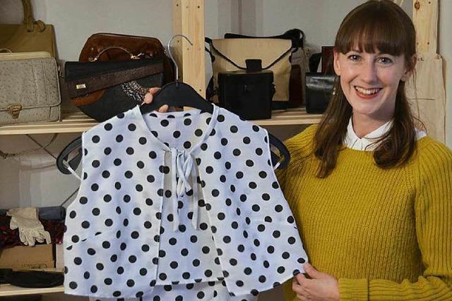 Bei Oma Klara gibt es Vintage-Kleidung mit besonderen Geschichten