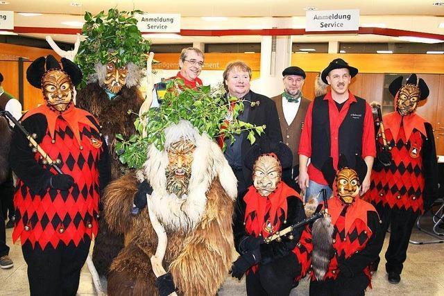 Ausstellung über Schreckli und Wilde Männer in Waldkirch