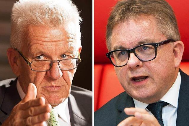 Kretschmann und Wolf streiten heute Abend im Fernsehen