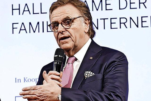 Europa-Park-Inhaber Roland Mack in der Hall of Fame