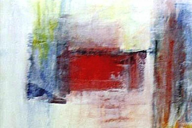 Gegenständliche Malerei und Arbeiten aus Ton