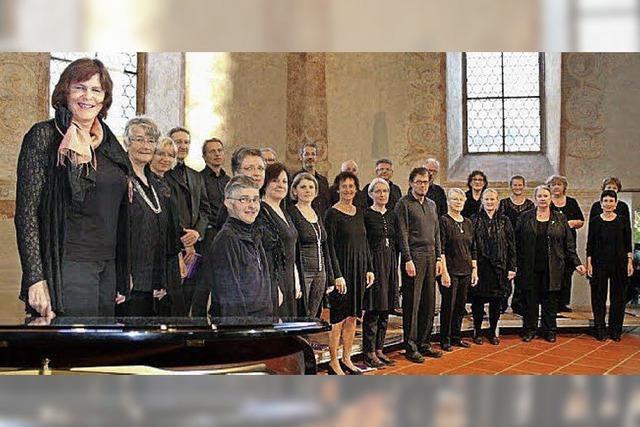 Markgräfler Vokalisten in der in der Pfarrkirche St. Alban