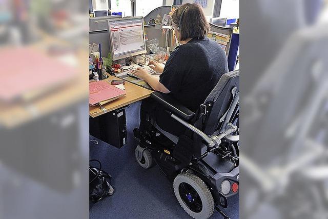 Chance für Menschen mit Behinderung