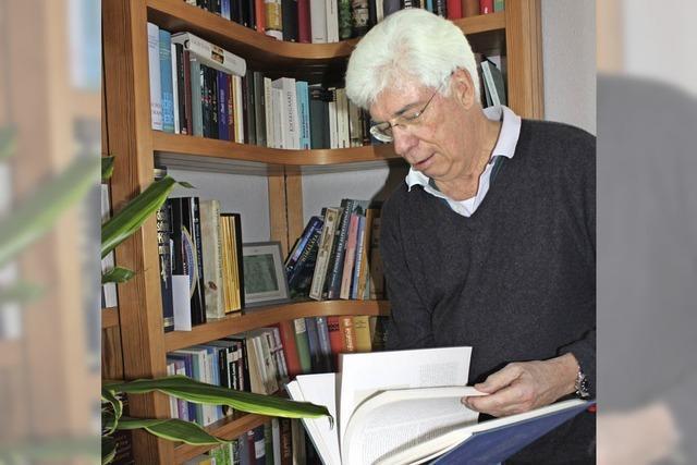 Klaus Steinert verbringt seinen Ruhestand in den Hörsälen der Universität Freiburg