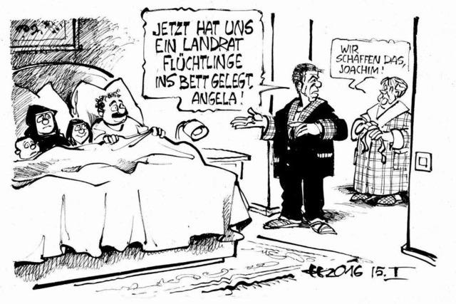 Nachts bei Merkels