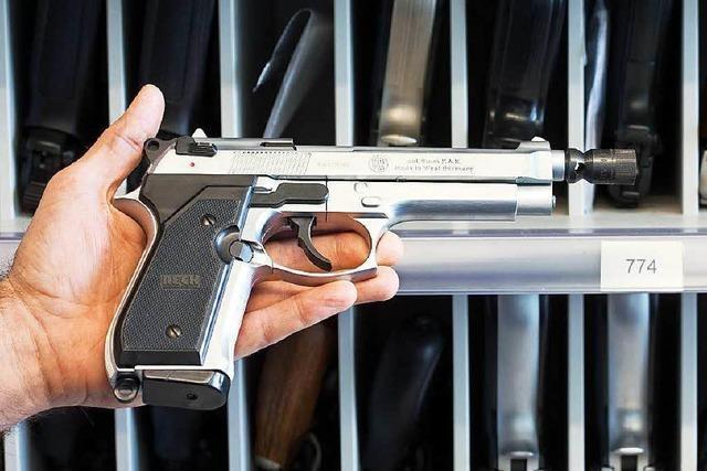 Menschen in Südwesten stellen vermehrt Anträge für Kleinen Waffenschein