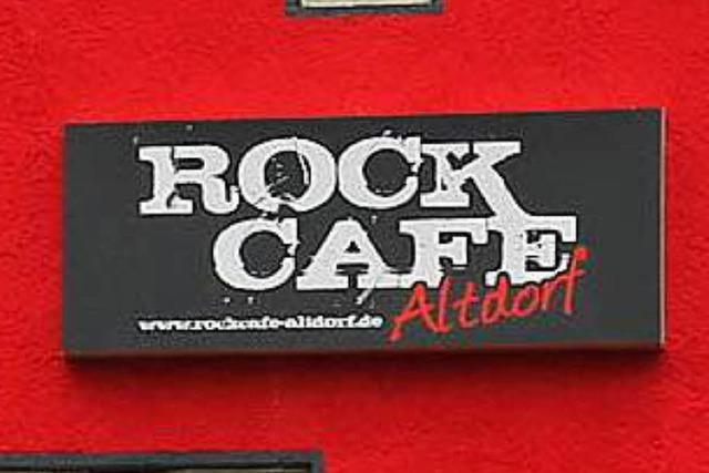Rockcafé in Altdorf gibt sein Abschiedskonzert