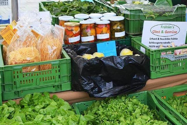 Neu auf dem Markt: Fröhlins bieten Obst und Gemüse