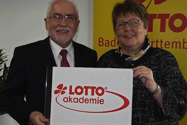Im Gewerbepark wird eine Lotto-Akademie eingeweiht
