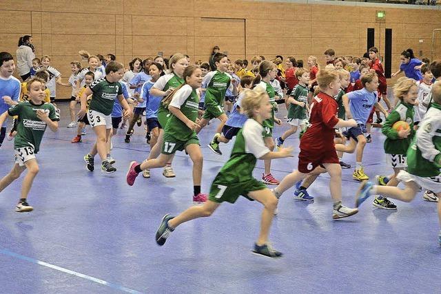 Handballminis in Hofweier