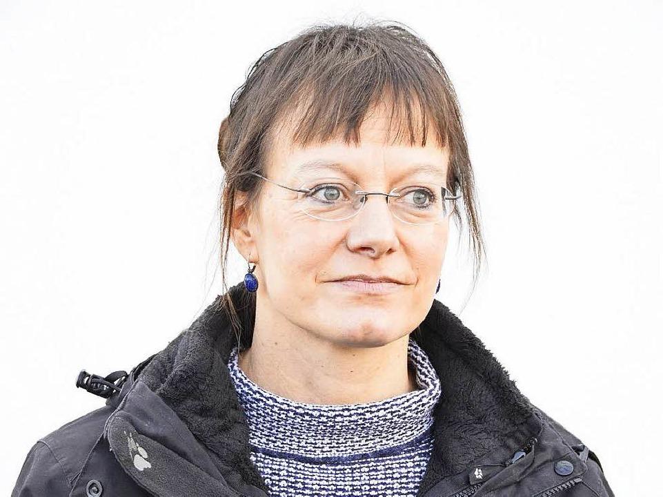 Cornelie Büchner gehört zum Organisati...erkreises für Flüchtlinge in Breisach.  | Foto: Agnes Pohrt