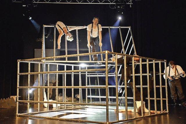 Theaterstück in der Stadthalle