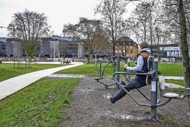 Ganz Straßburg wird zum Fitnessparcours