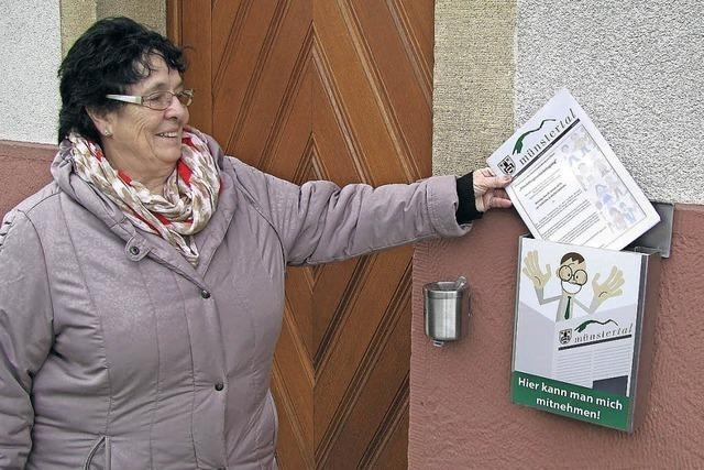 Das Gemeindeblatt gibt's jetzt kostenfrei