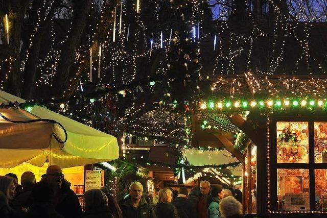 Freiburger Weihnachtsmarkt: Ein Magnet für Taschendiebe