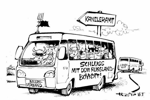 Der nächste Protestbus ist unterwegs!