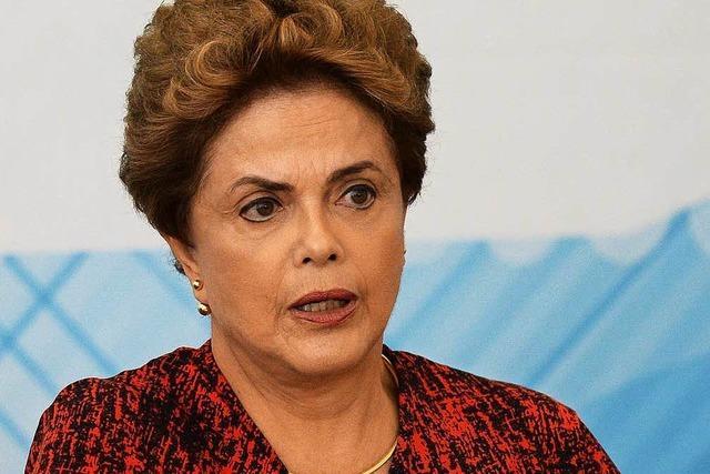 Opposition will Präsidentin Rousseff stürzen
