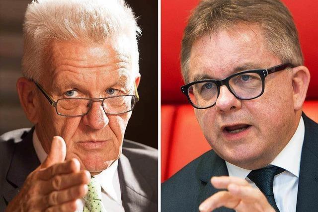 Kretschmann und Wolf im Clinch wegen Abschiebezahlen