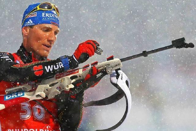 Erik Lesser gewinnt Massenstartrennen in Ruhpolding